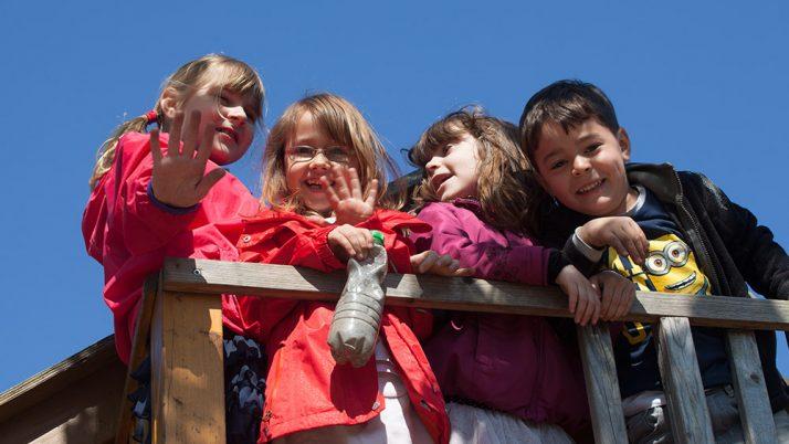 Der Kindergarten macht Urlaub